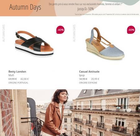 Spartoo jours d'automne