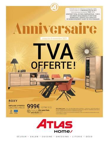 Anniversaire TVA Offerte!