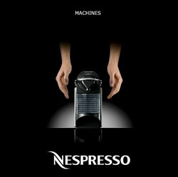Machines Nespresso 2017