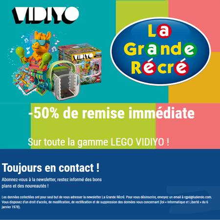 Lego Vydeo Offers