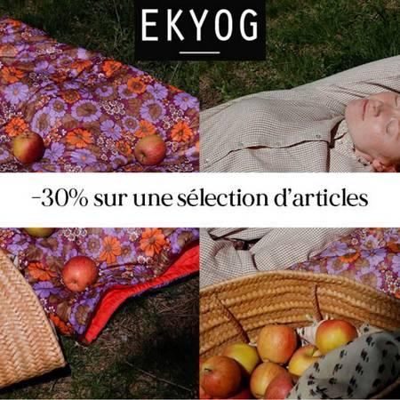 Ekyog -30% sur une sélection d'articles