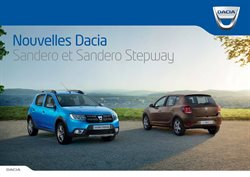 Nouvelle Dacia Sandero et Sandero Stepway