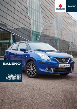 Suzuki Baleno - Catalogue Accessoires