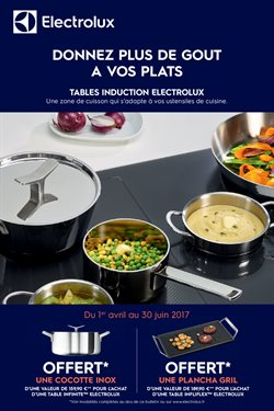 Tables induction Electrolux