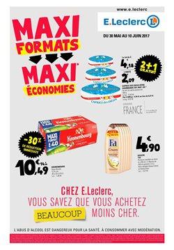 Maxi formats, maxi économies.