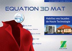 Equation 3D Mat