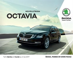 skoda brochure catalogue et promos mars 2017. Black Bedroom Furniture Sets. Home Design Ideas