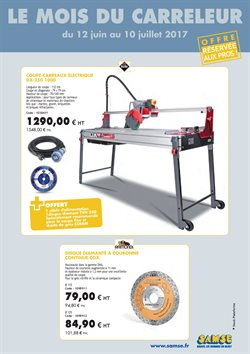 Samse Catalogue Réduction Et Code Promo Septembre - Code reduction e carreleur