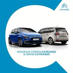 Nouveaux Citroën C4 Picasso & C4 Grand Picasso