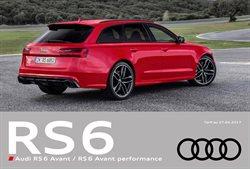 Nouvelle Audi RS6 Avant/RS6 Avant Performance