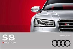 Nouveaux Audi S8/S8 Plus