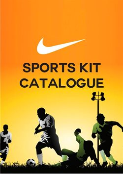 Sports kit catalogue