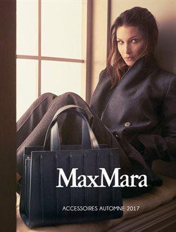 MaxMara Accessorires automne 17