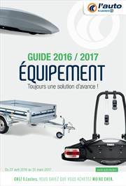 Equipement,guide 2016/2017