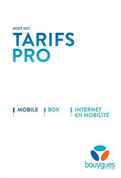 Tarifs Pro