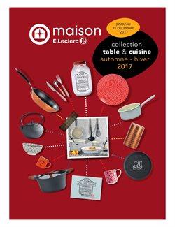Collection table et cuisine automne - hiver 2017
