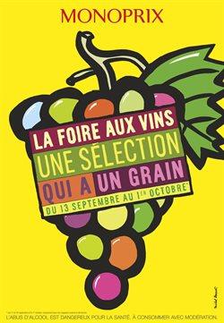 La foire aux vins une sélection qui à un grain