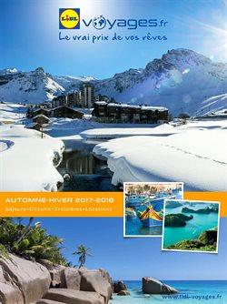 Catalogue Lidl Voyages