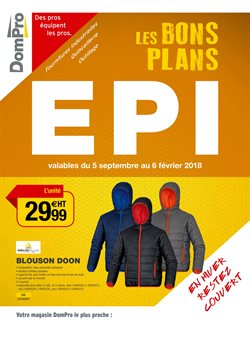 Les bons plan EPI