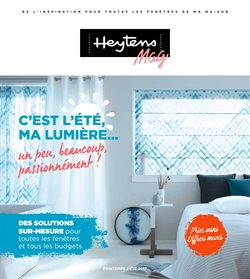 heytens catalogue code r duction et promo juillet 2019. Black Bedroom Furniture Sets. Home Design Ideas