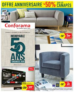 Conforama - Catalogue, réduction et code promo Novembre 2018