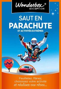 Saut en parachute et activités extrêmes