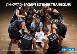 L'innovation sportive est notre terrain de jeu