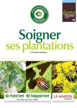 Soigner ses plantations