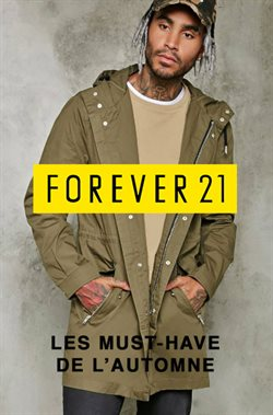 Forever 21 Automne Homme