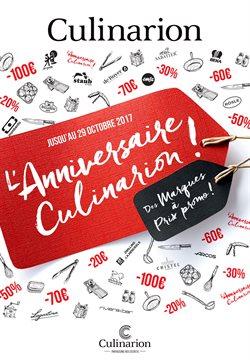 L'anniversaire Culinarion