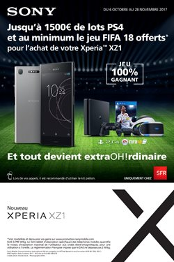 Offre Sony
