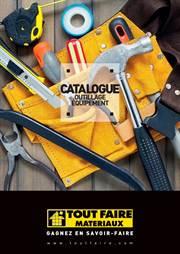 Catalogue Outillage Équipement