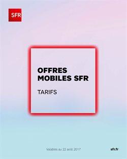 Offres Mobiles SFR Tarifs