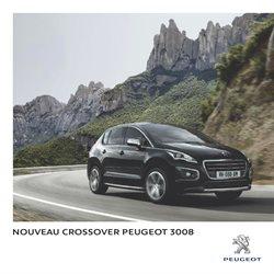 Nouveau Crossover Peugeot 3008