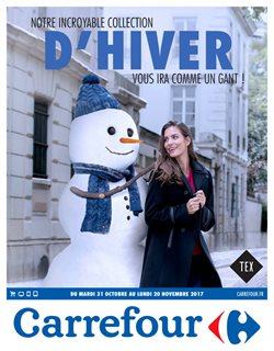 Notre incroyable collection d'hiver