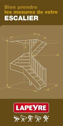 Bien prendre les mesures de votre Escalier