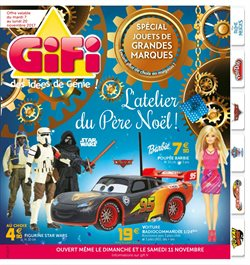 Gifi catalogue prospectus et code promo juillet 2017 for Projecteur gifi