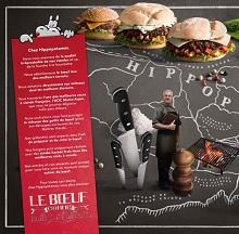 Carte Hippopotamus : Les burgers