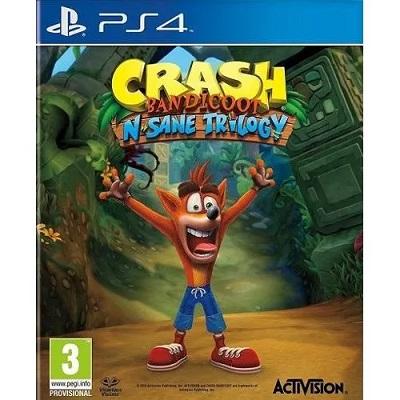 Crash Bandicoot N.SaneTrilogy ps4