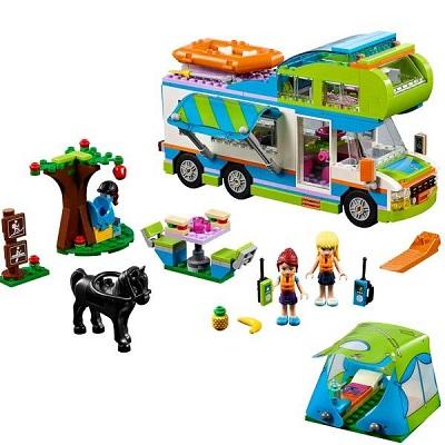 Lego Friends Le camping-car de Mia Cadeau Noël 2019