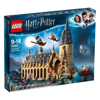 Lego Harry Potter La Grande Salle du château de Poudlard Noël 2019