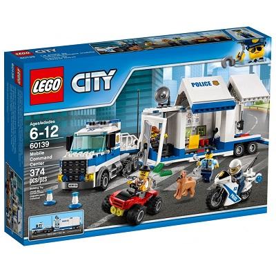Noël 2019 : Lego City Le poste de commandement mobile