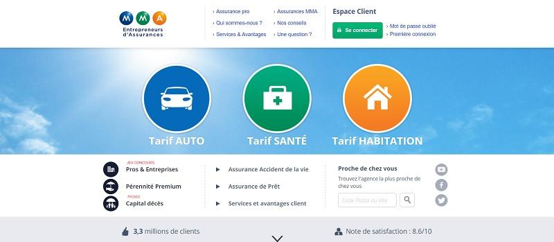 mma offre assurance à partir de 1,83€