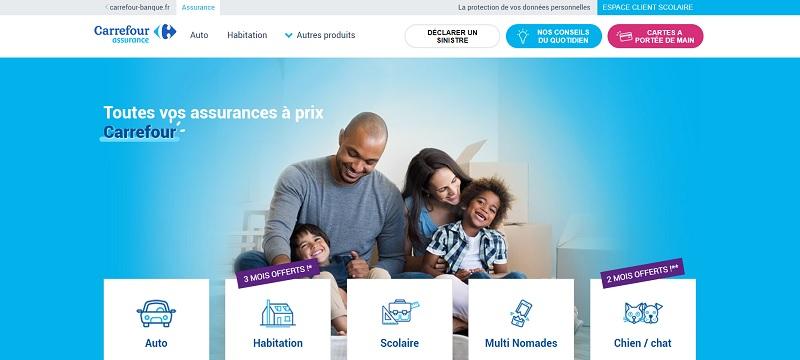 offre assurance carrefour à partir de 15€